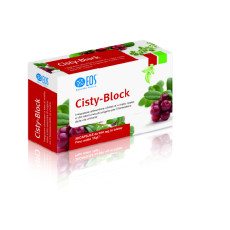 Cisty Block Integratore Alimentare di Mirtillo Rosso